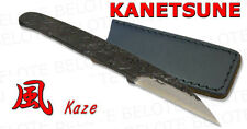 Kanetsune Seki KAZE WhiteSteel Knife + Sheath KB-220