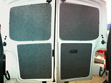 vw t5 interior panels back door cards carpeted  onto plyline ply lining camper