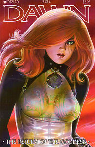 DAWN The Return of the Goddess #2 (of 4) - 1999 - Back Issue