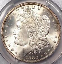 1880 Morgan Silver Dollar $1 - PCGS UNC Details - Gem BU Look - Nice Coin