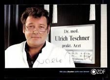 Walther Plathe ZDF Autogrammkarte Original Signiert # BC 63341