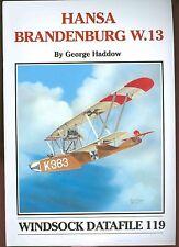 WINDSOCK DATAFILE  # 119  Hansa Brandenburg W.13    new  sb book