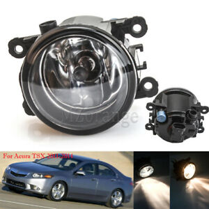 Fog Light Lamp For Acura TSX 2011-2014 TL 2012-14 ILX RDX Mustang with H11 Bulb