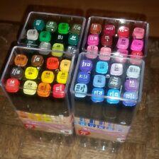 48 Twinmarker ◇ 4 x 12 Stifte ◇ auf Alkoholbasis ◇ Malen Kolorieren Basteln