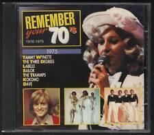 REMEMBER YOUR 70'S 1975 CD Sailor Kokomo Neil Diamond Johnny Mathis David Essex