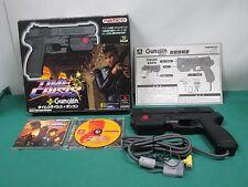 PlayStation - TIME CRISIS + NAMCO GUNCON - PS1. JAPAN GAME. 18108