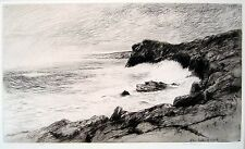 """""""Isles of Shoals"""" etching by Kerr Eby"""