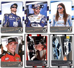 2017 Panini Donruss Racing - NASCAR Base Set Cards - Pick From Card #'s 37-136