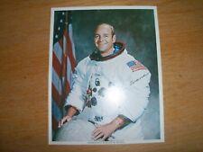Astronaut Ronald E Evans Autographed Signed Photo Print, Apollo 17
