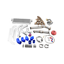 CXRacing GT2871 Ball Bearing Turbo Intercooler Kit For 99-05 Mazda Miata 1.8L
