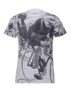 Eroica Burruti T-Shirt in White - Bianca- By Santini