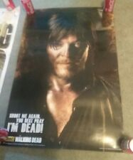 The Walking Dead Daryl - Shoot Me Again Poster Print, 24x36 & EXTRA