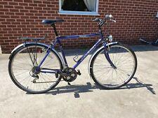 VINTAGE RALEIGH PIONEER HYBRID BIKE TOWN BICYCLE DYNAMO FRONT & REAR LAMP LIGHTS