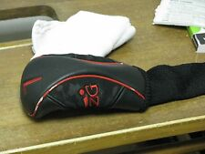 KZG Fairway Headcover Red/Black OK Shape!!