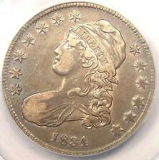 1834 Capped Bust Half Dollar 50C - ANACS XF45 (EF45) - Rare Certified Coin!