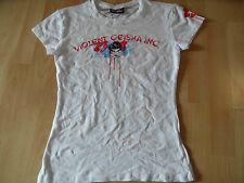VERY BERRYOUS schönes Shirt Geisha Druck weiß Gr. L NEUw. ZC616