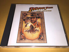 INDIANA JONES and LAST CRUSADE soundtrack INDY 3 CD john williams sean connery