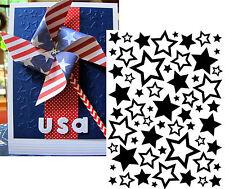 Stars Assorted Embossing Folder 1218-63 - Darice embossing folders patriotic