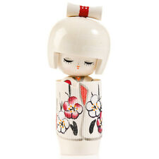 Blanc rêve de printemps kokeshi doll