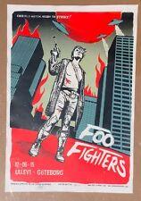 Foo Fighters Ullevi Goteburg Gothenburg Sweden Poster