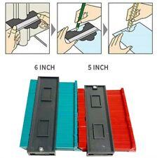 Contour Gauge Duplications 5/6 inch Profile Copy Tool Measuring for Corners