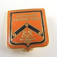 Knebworth F.C Football Club Enamel Pin Badge - Non League Football clubs
