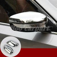 Für BMW 5 Series G30 G31 Glänzendes Silber Spiegelkappen Außenspiegel Rahmen