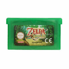 Legend of Zelda The Minish Cap Nintendo GBA Video Game Cartridge Console Card