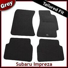 Subaru Impreza Tailored Carpet Car Mats GREY (2005 2006 2007 2008 2009 2010 ...)