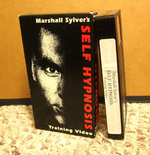 MARSHALL SYLVER Self Hypnosis self-help Reduce Stress VHS hypnotic relaxation