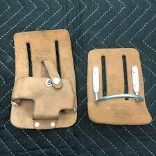 Oklahoma Leather Products Inc Tape Measure & Hammer Belt Holders OK439/OK464