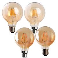 Globe Vintage Industrial LED Edison Filament Squirrel Cage E27/B22-4W Light Bulb