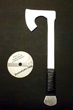 Aluminum Training Viking Tomahawk Axe Hatchet & Martial Arts Training DVD