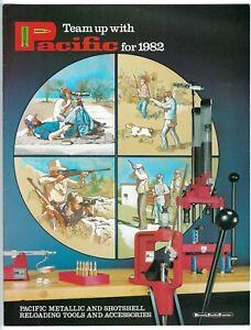 Vtg 1982 HORNADY PACIFIC Shotshell Shotgun RELOADING Press CATALOG Ammunition