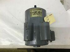 Ge 5kc184al29 5 Hp Ac Motor 220 Volts 1800 Rpm 184 Frame Single Phase