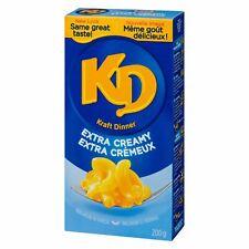 6 X Kraft DINNER EXTRA CREAMY FULL SIZE 225g/ 7.9oz- Mac N Cheee- Canada FRESH