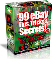 99 EBAY TIPS TRICKS & SECRETS  PDF EBOOK FREE SHIPPING RESALE RIGHTS