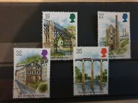 Great Britain 1989 Industrial Archaeology. 4 stamp set used