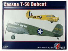 NOS/NOB Vintage Cessna T-50 Bobcat Model Airplane, Pavla Models 1/72