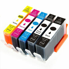 5 PK Ink Cartridge Set w/ chip use for HP 564XL Photosmart 7510 7515 7520 7525