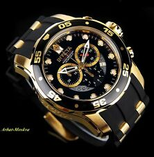 Invicta Men's Scuba Master Of The Ocean Chronograph 18K Gold IP Luxury Watch