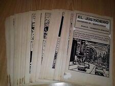 Mexican PULP MICRO-SUSPENSO #479 Concho ORIGINAL COMIC ART COMPLETE STORY 92 pgs