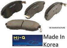 OEM Rear Ceramic Brake Pad Set With Shims For Hyundai Tiburon 1997-2008