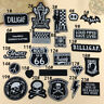 Embroidered Sew Iron On Patches Badge Bag Dress Fabric Applique Craft