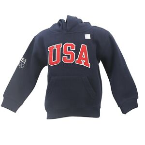 Team USA Olympics Official Apparel Infant Toddler Size Hooded Sweatshirt New
