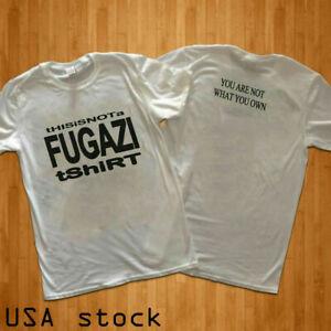 Early 90s Fugazi 'This is not a Fugazi T-shirt' Gildan  S-2XL