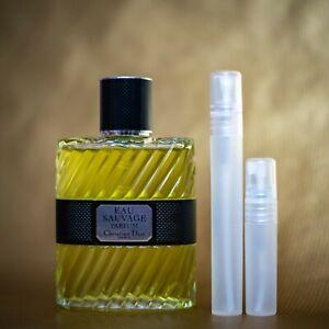 Dior Eau Sauvage PARFUM 5 ml travel size 100% genuine
