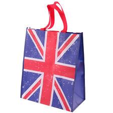 Kunststofftasche Shopping Bag  Einkaufstasche Tasche britische Flagge Union Jack
