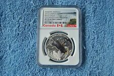 Canada, $20, NGC, Majestic Animals Series, Baronial Bald Eagle, PF70 UC, ER