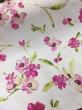 Cotton Satin Rosemarie Chintz Fabric Curtain Weight Cushions Upholstery